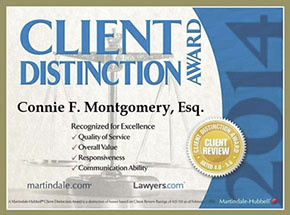 Springfield Law Group - Connie Montgomery Award 2014