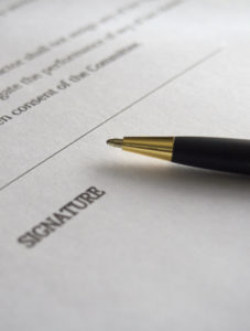 Springfield Law Group - Contract Signature